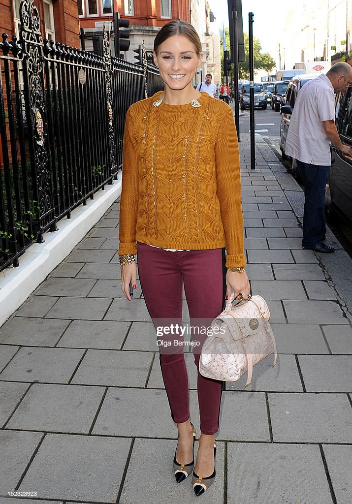 Olivia Palermo sighting on September 18 2012 in London England