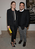 Olivia Palerno and Narciso Rodriguez attend Narciso Rodriguez Bottletop Collection Pepsi US Launch at Sikkema Jenkins And Co Gallery on May 8 2014 in...