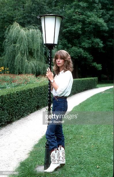 Olivia Pascal am Rande vom Kinofilm 'Popcorn und Himbeereis' am im 'Schlosshotel Velden' in Velden am Wörthersee Österreich
