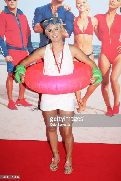 Olivia Phyland arrives ahead of the Australian Premiere of Baywatch on May 18 2017 in Sydney Australia