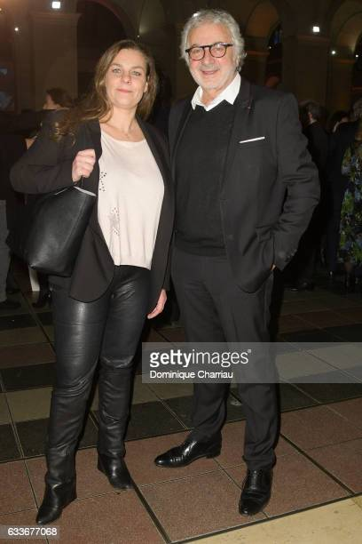 Olivia Provost and Franck Provost attend the 'Trophees Du Film Francais' 24th Ceremony at Palais Brongniart on February 2 2017 in Paris France
