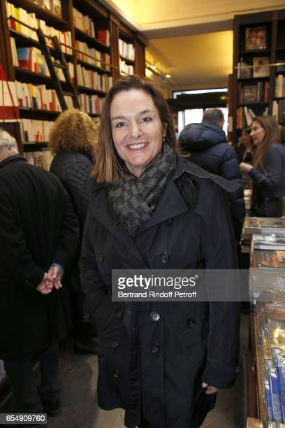 Olivia Putman attends Bertrand Matteoli Signing Book 'Bien Dans Sa Peau' at Librairie Galignali on March 18 2017 in Paris France