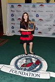 Olivia Ries attends the Captain Planet Foundation Gala at Intercontinental Buckhead on December 5 2014 in Atlanta Georgia