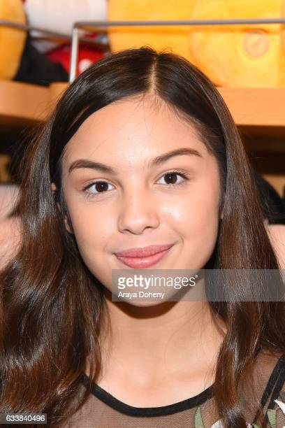 Olivia Rodrigo attends the Disney Reads Day at the Disney Store on February 4 2017 in Glendale California