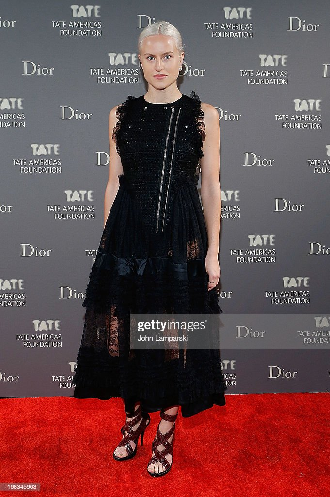 Olivia Scarry attends the 2013 Tate Americas Foundation Artists Dinner at Skylight Studios at Moynihan Station on May 8, 2013 in New York City.