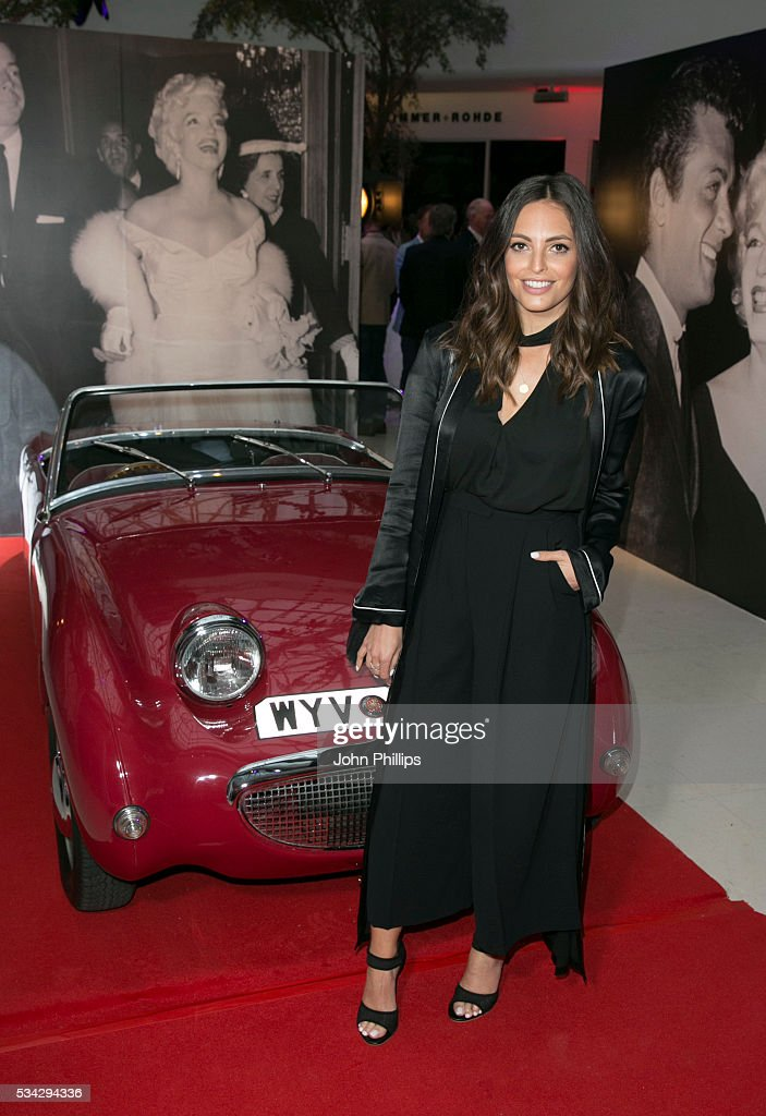 Olivia Wainea attends the Marilyn Monroe: Legacy of a Legend launch party at Design Centre, Chelsea Harbour at Design Centre on May 25, 2016 in London, England.