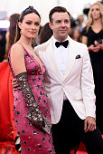 Olivia Wilde and Jason Sudeikis attend the 'China Through The Looking Glass' Costume Institute Benefit Gala at the Metropolitan Museum of Art on May...