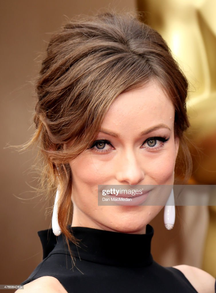 Olivia Wilde arrives at the 86th Annual Academy Awards at Hollywood & Highland Center on March 2, 2014 in Los Angeles, California.
