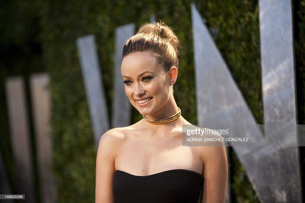 Olivia Wilde arrives at the Vanity Fair Oscar Party, for the 84th Annual Academy Awards, at the Sunset Tower on February 26, 2012 in West Hollywood, California.