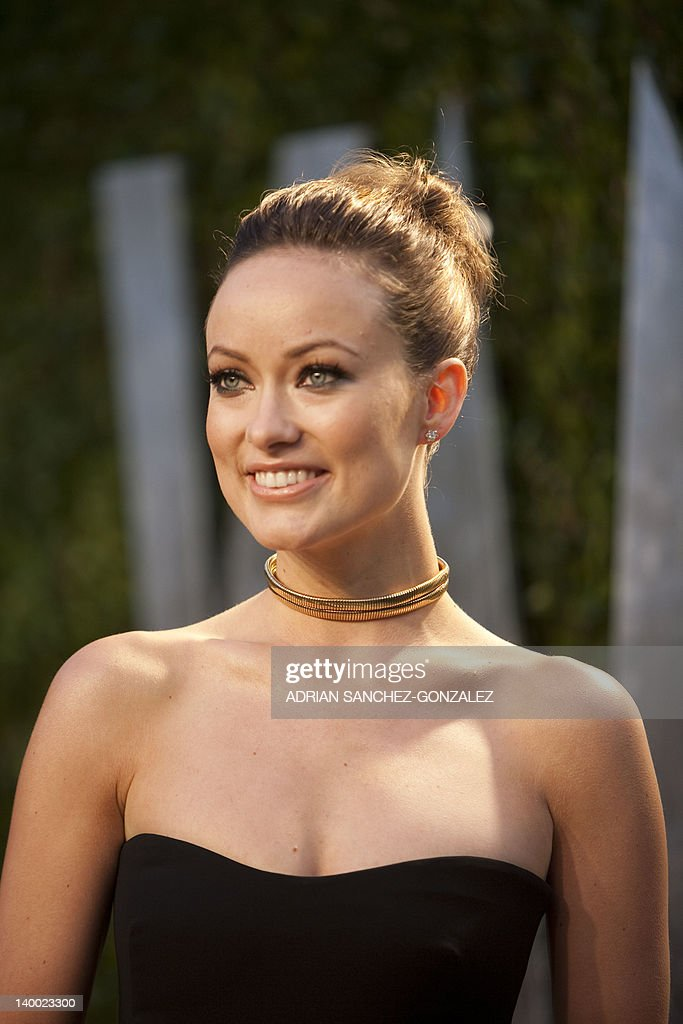Olivia Wilde arrives at the Vanity Fair Oscar Party, for the 84th Annual Academy Awards, at the Sunset Tower on February 26, 2012 in West Hollywood, California. AFP PHOTO / ADRIAN SANCHEZ-GONZALEZ