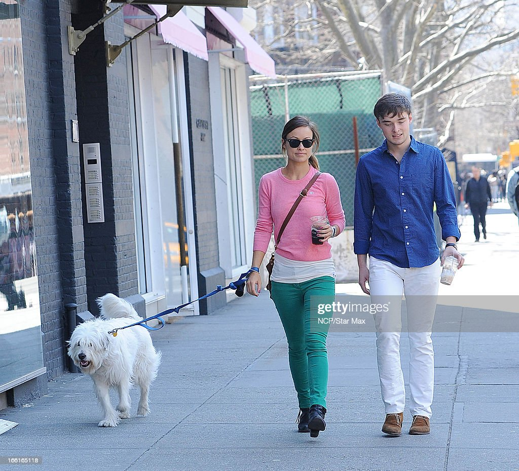 Olivia Wilde as seen on April 8, 2013 in New York City.