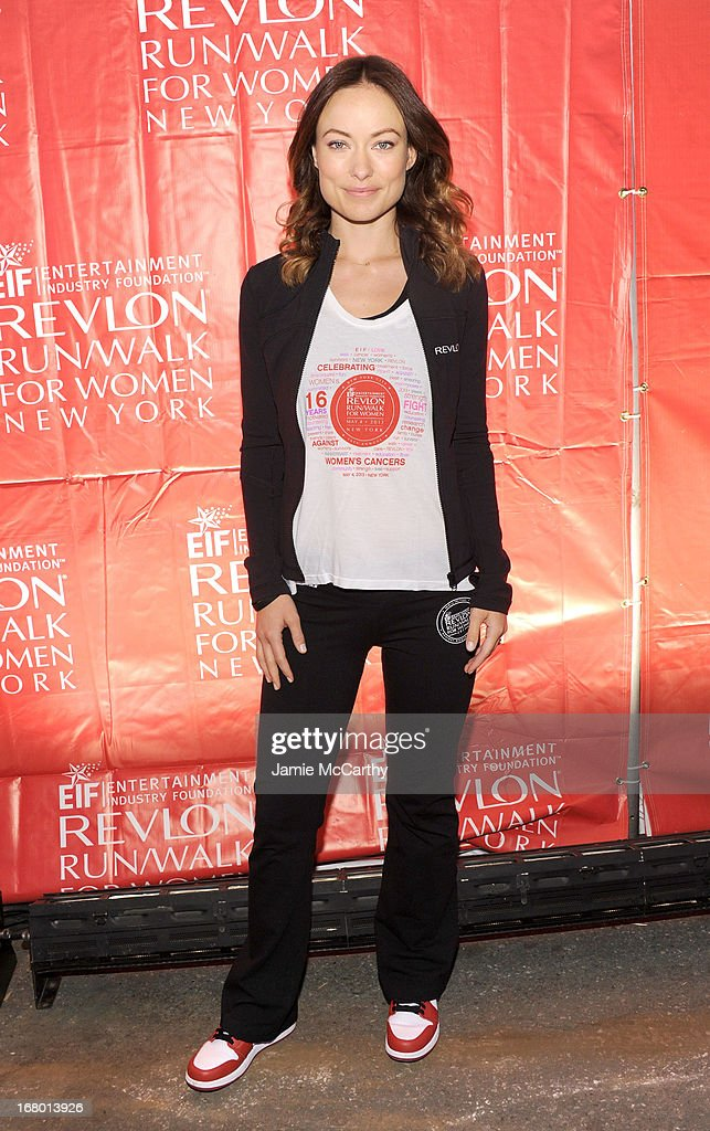 <a gi-track='captionPersonalityLinkClicked' href=/galleries/search?phrase=Olivia+Wilde&family=editorial&specificpeople=235399 ng-click='$event.stopPropagation()'>Olivia Wilde</a> attends 16th Annual EIF Revlon Run Walk For Women on May 4, 2013 in New York City.