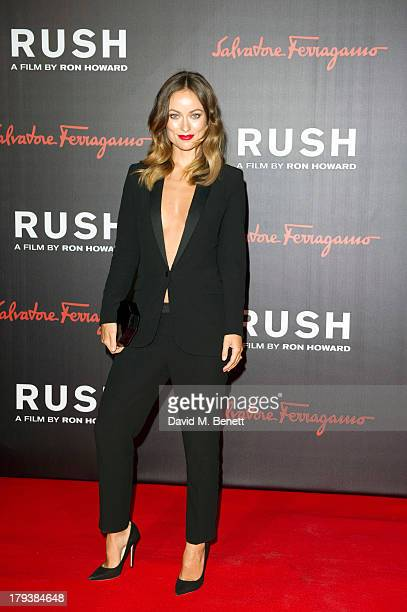 Olivia Wilde attends an after party following the World Premiere of 'Rush' at One Marylebone on September 2 2013 in London England