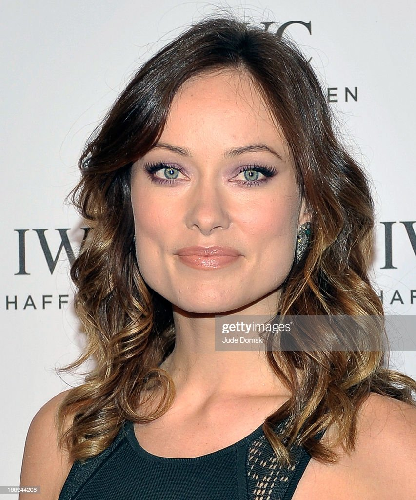 Olivia Wilde attends IWC And Tribeca Film Festival Celebrate 'For The Love Of Cinema' at Urban Zen on April 18, 2013 in New York City.