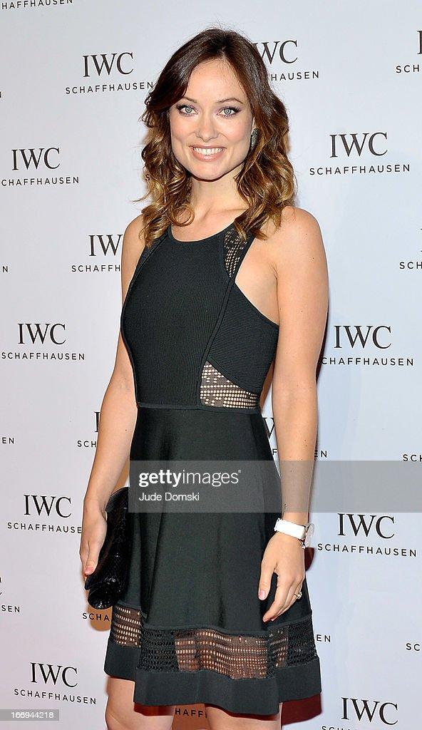 <a gi-track='captionPersonalityLinkClicked' href=/galleries/search?phrase=Olivia+Wilde&family=editorial&specificpeople=235399 ng-click='$event.stopPropagation()'>Olivia Wilde</a> attends IWC And Tribeca Film Festival Celebrate 'For The Love Of Cinema' at Urban Zen on April 18, 2013 in New York City.