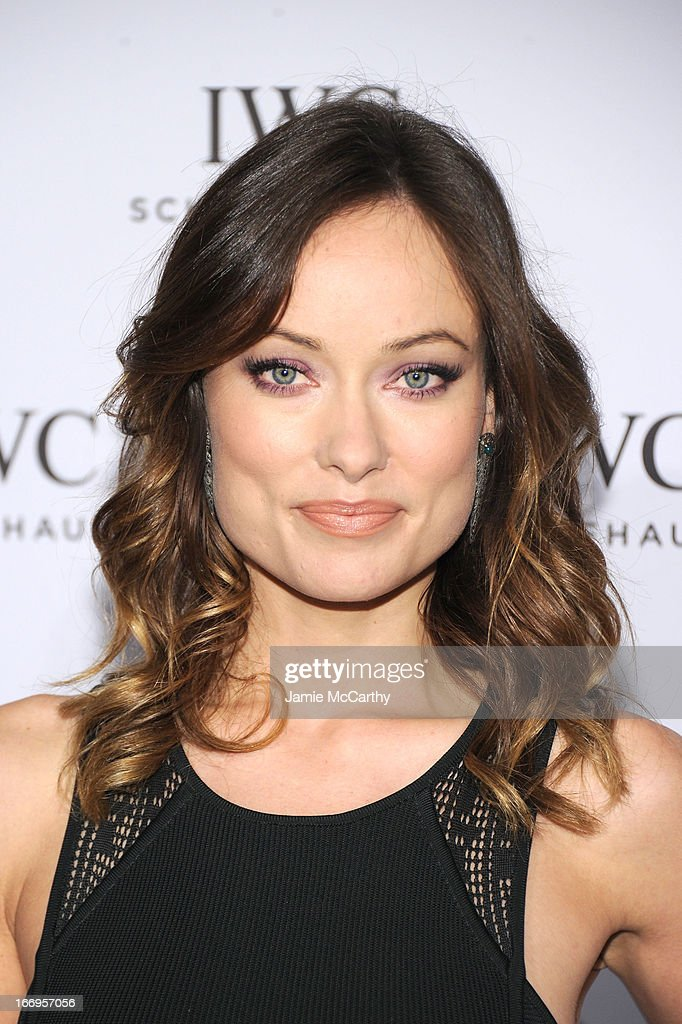 <a gi-track='captionPersonalityLinkClicked' href=/galleries/search?phrase=Olivia+Wilde&family=editorial&specificpeople=235399 ng-click='$event.stopPropagation()'>Olivia Wilde</a> attends IWC and Tribeca Film Festival Celebrate 'For the Love of Cinema' on April 18, 2013 in New York City.