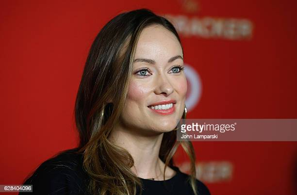 Olivia Wilde attends Target's Toycracker Premiere event at Spring Studios on December 7 2016 in New York City