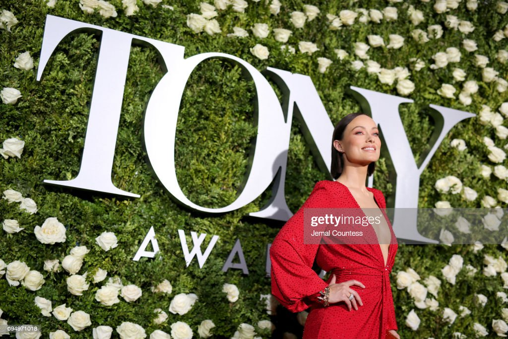 Olivia Wilde attends the 2017 Tony Awards at Radio City Music Hall on June 11, 2017 in New York City.