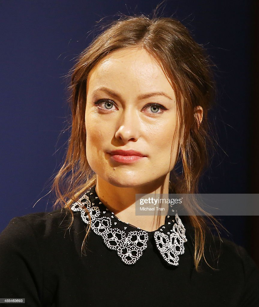 <a gi-track='captionPersonalityLinkClicked' href=/galleries/search?phrase=Olivia+Wilde&family=editorial&specificpeople=235399 ng-click='$event.stopPropagation()'>Olivia Wilde</a> attends the 71st Annual Golden Globe Awards Nominations Announcement held at The Beverly Hilton on December 12, 2013 in Beverly Hills, California.