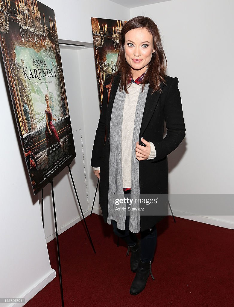 <a gi-track='captionPersonalityLinkClicked' href=/galleries/search?phrase=Olivia+Wilde&family=editorial&specificpeople=235399 ng-click='$event.stopPropagation()'>Olivia Wilde</a> attends the 'Anna Karenina' New York Special Screening at Florence Gould Hall on November 7, 2012 in New York City.