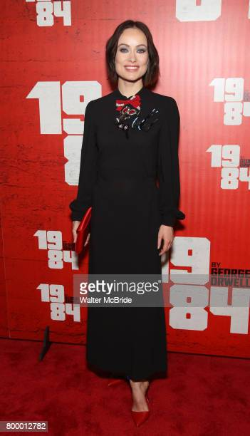 Olivia Wilde attends the Broadway Opening Night Party for George Orwell's '1984' at The Lighthouse Pier 61 on June 22 2017 in New York City