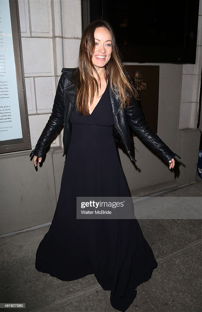 Olivia Wilde attends the Broadway Opening Night performance of 'Fool For Love' at the Samuel J Friedman Theatre on October 8 2015 in New York City