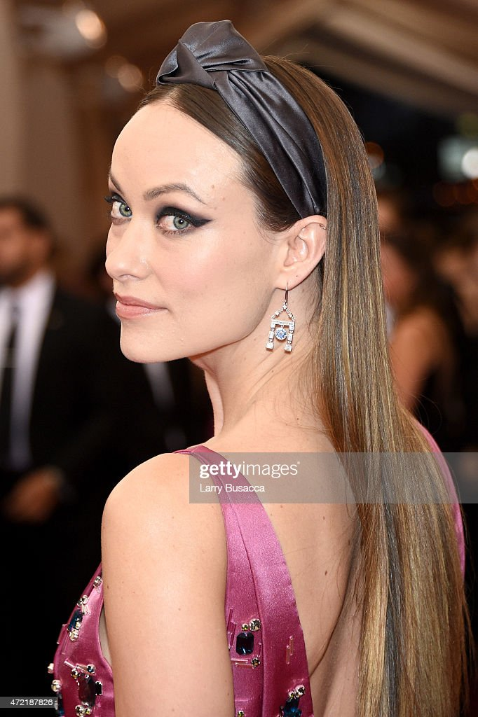 Olivia Wilde attends the 'China Through The Looking Glass' Costume Institute Benefit Gala at the Metropolitan Museum of Art on May 4 2015 in New York...
