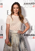 Olivia Wilde attends the Elle Style Awards 2015 at Sky Garden @ The Walkie Talkie Tower on February 24 2015 in London UK