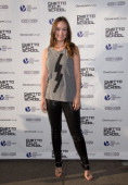 Olivia Wilde attends the Ghetto Film School 10th annual apring benefit at The Standard Biergarten on June 18 2014 in New York City