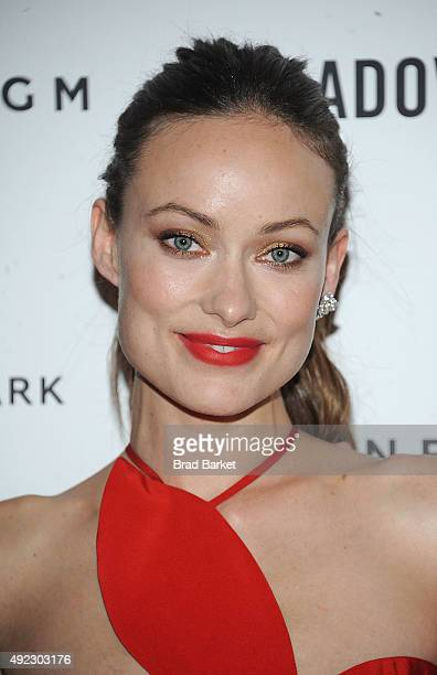 Olivia Wilde attends the 'Meadowland' New York premiere at Sunshine Landmark on October 11 2015 in New York City