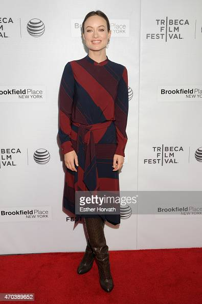 Olivia Wilde attends the Shorts Program World Pemiere of 'Body Team 12' during the 2015 Tribeca Film Festival at Regal Battery Park 11 on April 19...