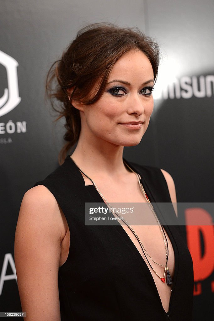 Olivia Wilde attends The Weinstein Company With The Hollywood Reporter, Samsung Galaxy And The Cinema Society Host A Screening Of 'Django Unchained' at Ziegfeld Theater on December 11, 2012 in New York City.