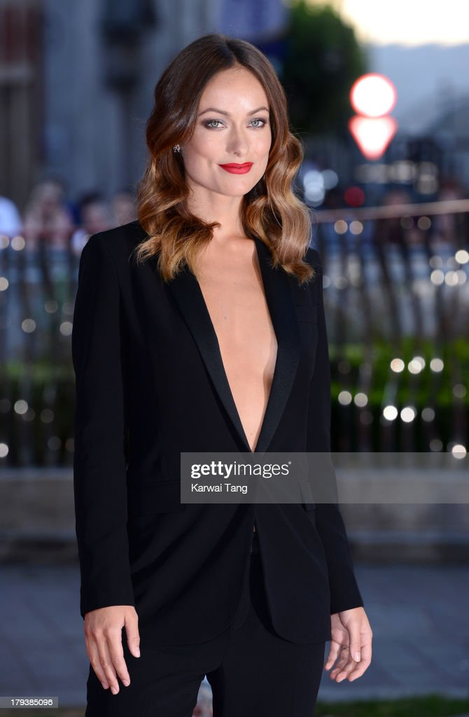 <a gi-track='captionPersonalityLinkClicked' href=/galleries/search?phrase=Olivia+Wilde&family=editorial&specificpeople=235399 ng-click='$event.stopPropagation()'>Olivia Wilde</a> attends the World Premiere of 'Rush' at the Odeon Leicester Square on September 2, 2013 in London, England.