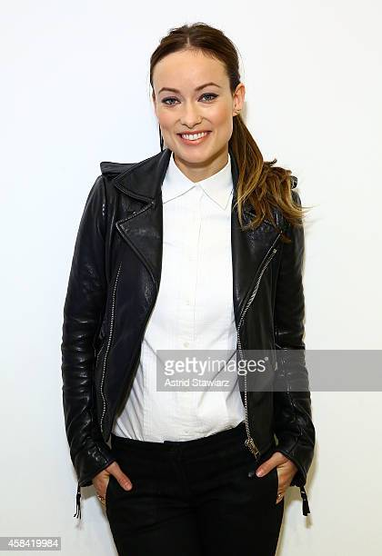 Olivia Wilde cohosts event at Birchbox Soho in Celebration of Conscious Commerce Birchbox Collaboration on November 4 2014 in New York City