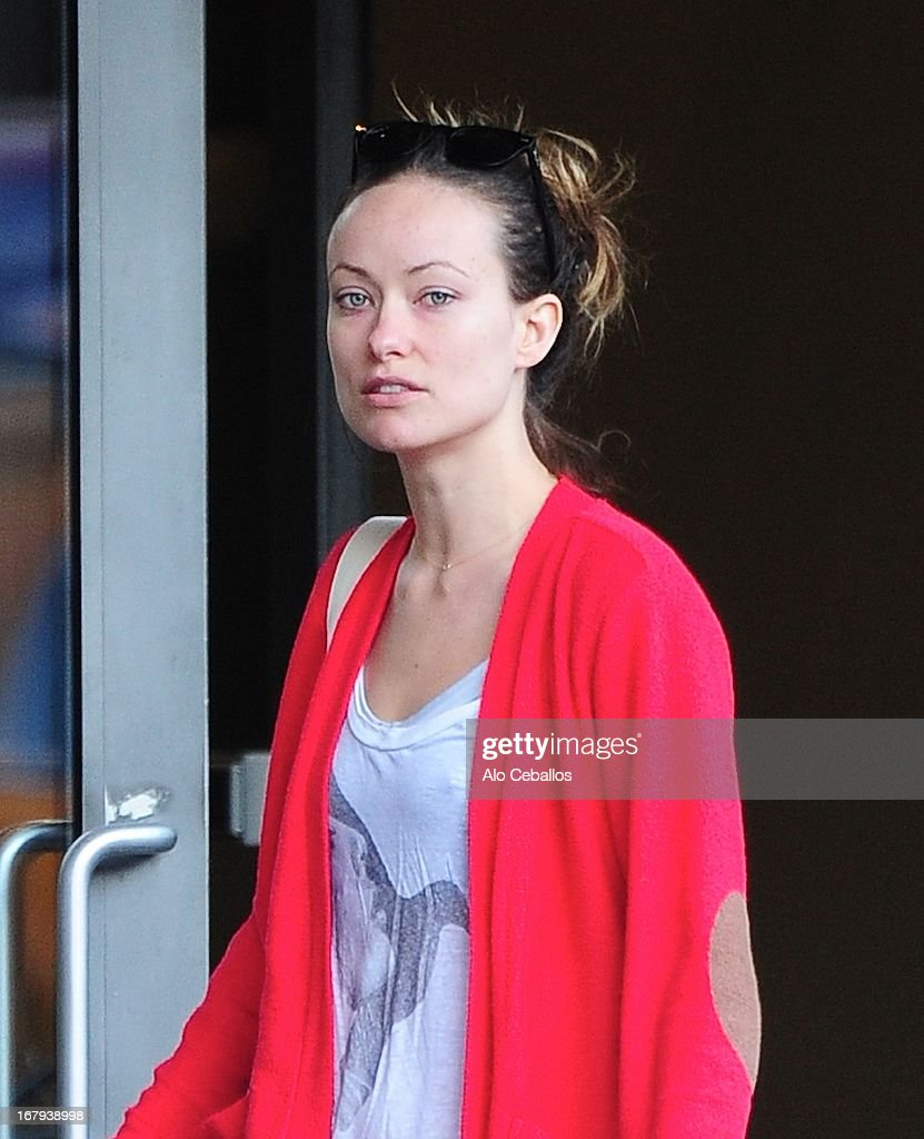 Olivia Wilde is seen in the Meat Packing District on May 2, 2013 in New York City.