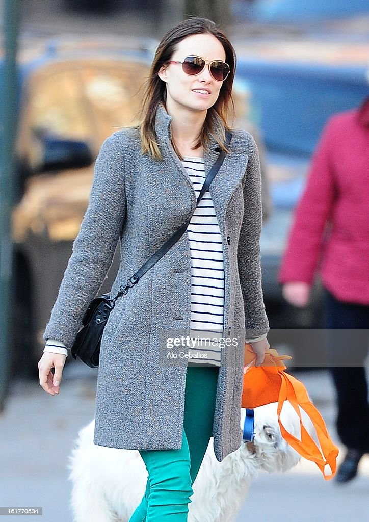 <a gi-track='captionPersonalityLinkClicked' href=/galleries/search?phrase=Olivia+Wilde&family=editorial&specificpeople=235399 ng-click='$event.stopPropagation()'>Olivia Wilde</a> is seen in the West Village on February 15, 2013 in New York City.