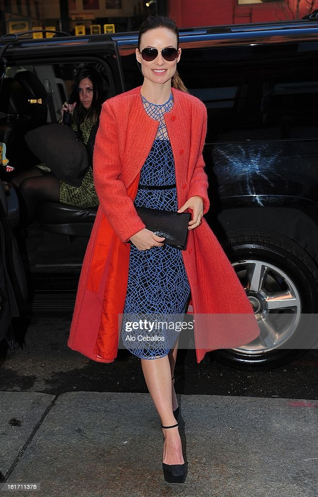 <a gi-track='captionPersonalityLinkClicked' href=/galleries/search?phrase=Olivia+Wilde&family=editorial&specificpeople=235399 ng-click='$event.stopPropagation()'>Olivia Wilde</a> is seen on February 14, 2013 in New York City.
