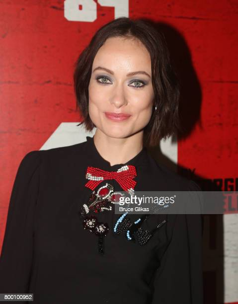 Olivia Wilde poses at the opening night party for '1984' on Broadway at The Lighthouse at Chelsea Piers on June 22 2017 in New York City
