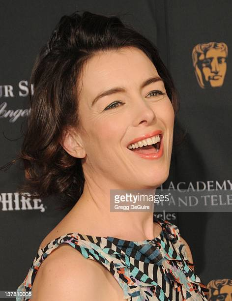 Olivia Williams arrives at the 17th Annual BAFTA Los Angeles Awards Season Tea Party at the Four Seasons Hotel on January 15 2011 in Los Angeles...