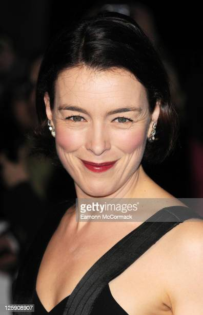 Olivia Williams arrives at The 31st London Film Critics' Circle Awards at BFI Southbank on February 10 2011 in London England