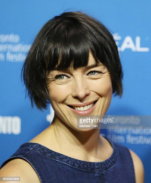 Olivia Williams arrives at the photocall of Maps To The Stars held during the 2014 Toronto International Film Festival Day 6 held on September 9 2014...