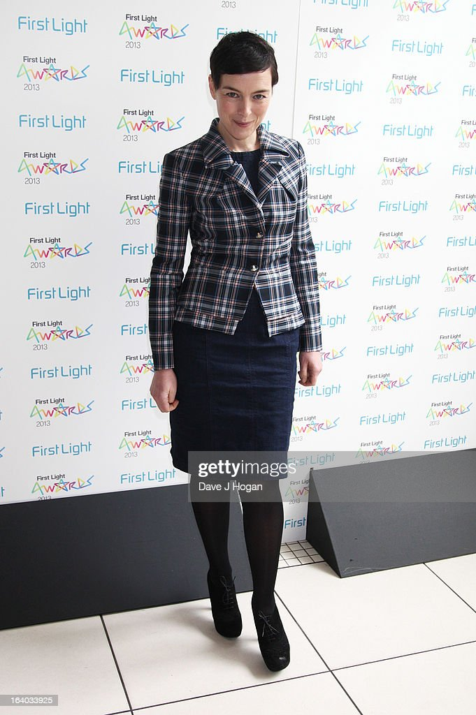 Olivia Williams attends the First Light Awards 2013 at The Odeon Leicester Square on March 19, 2013 in London, England.