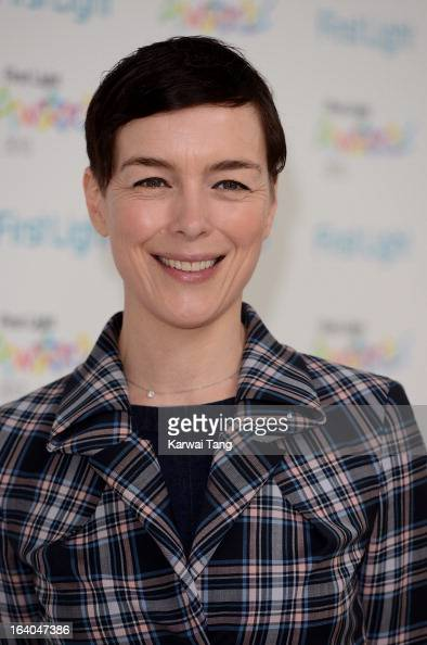 Olivia Williams attends the First Light Awards at Odeon Leicester Square on March 19 2013 in London England