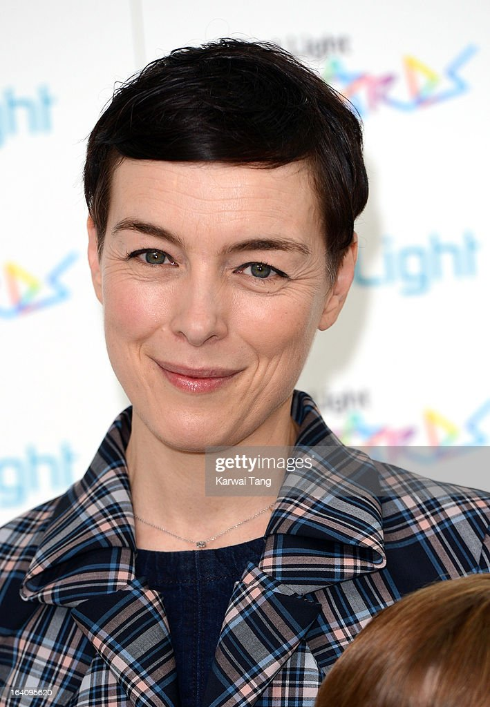 Olivia Williams attends the First Light Awards at Odeon Leicester Square on March 19, 2013 in London, England.