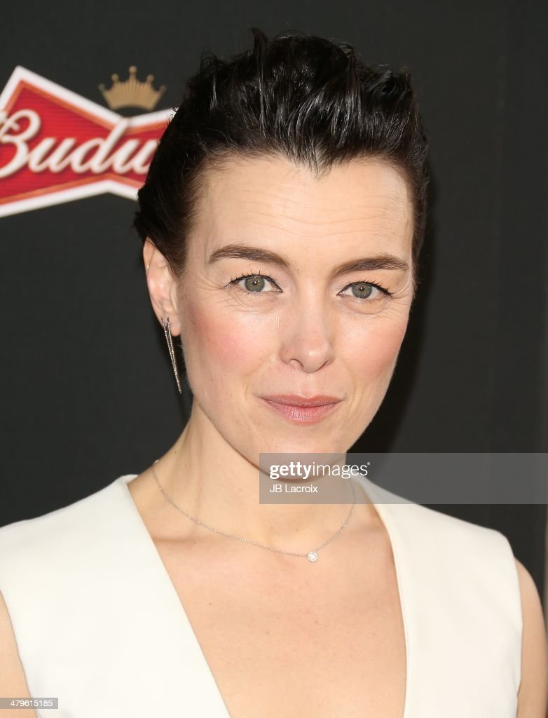 <a gi-track='captionPersonalityLinkClicked' href=/galleries/search?phrase=Olivia+Williams&family=editorial&specificpeople=203186 ng-click='$event.stopPropagation()'>Olivia Williams</a> attends the 'Sabotage' Los Angeles premiere held at Regal Cinemas L.A. Live on March 19, 2014 in Los Angeles, California.