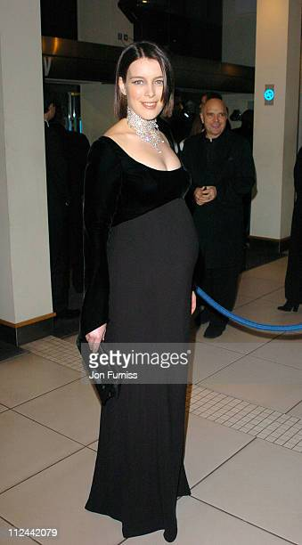 Olivia Williams during 2004 BAFTA Awards Inside Arrivals at The Odeon Leicester Square in London United Kingdom