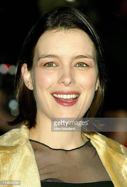 Olivia Williams during The 2004 Evening Standard Film Awards Arrivals at The Savoy London WC2 in London Great Britain