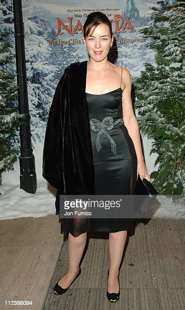 Olivia Williams during 'The Chronicles of Narnia The Lion The Witch and the Wardrobe' London Premiere Inside Arrivals at Royal Albert Hall in London...