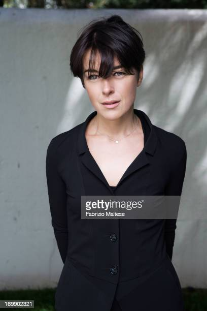 Olivia Williams is photographed for Self Assignment on May 20 2013 in Cannes France