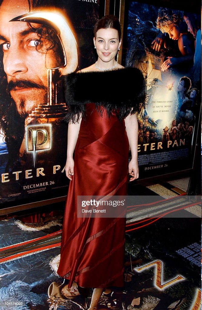 Olivia Williams, Peter Pan The Movie, Premiere At The Empire, Leicester Square, London